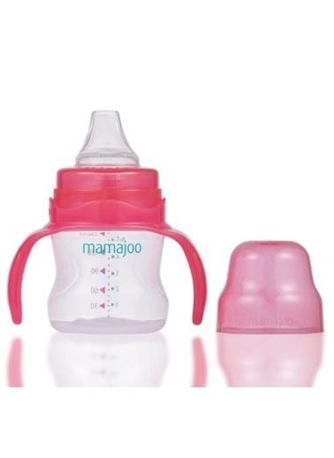 Mamajoo Kız Bebek Kulplu Damlatmaz Eğitici Bardak 160 ml Renkli